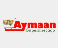 Logotipo do Supermercado Aymaan Comercial